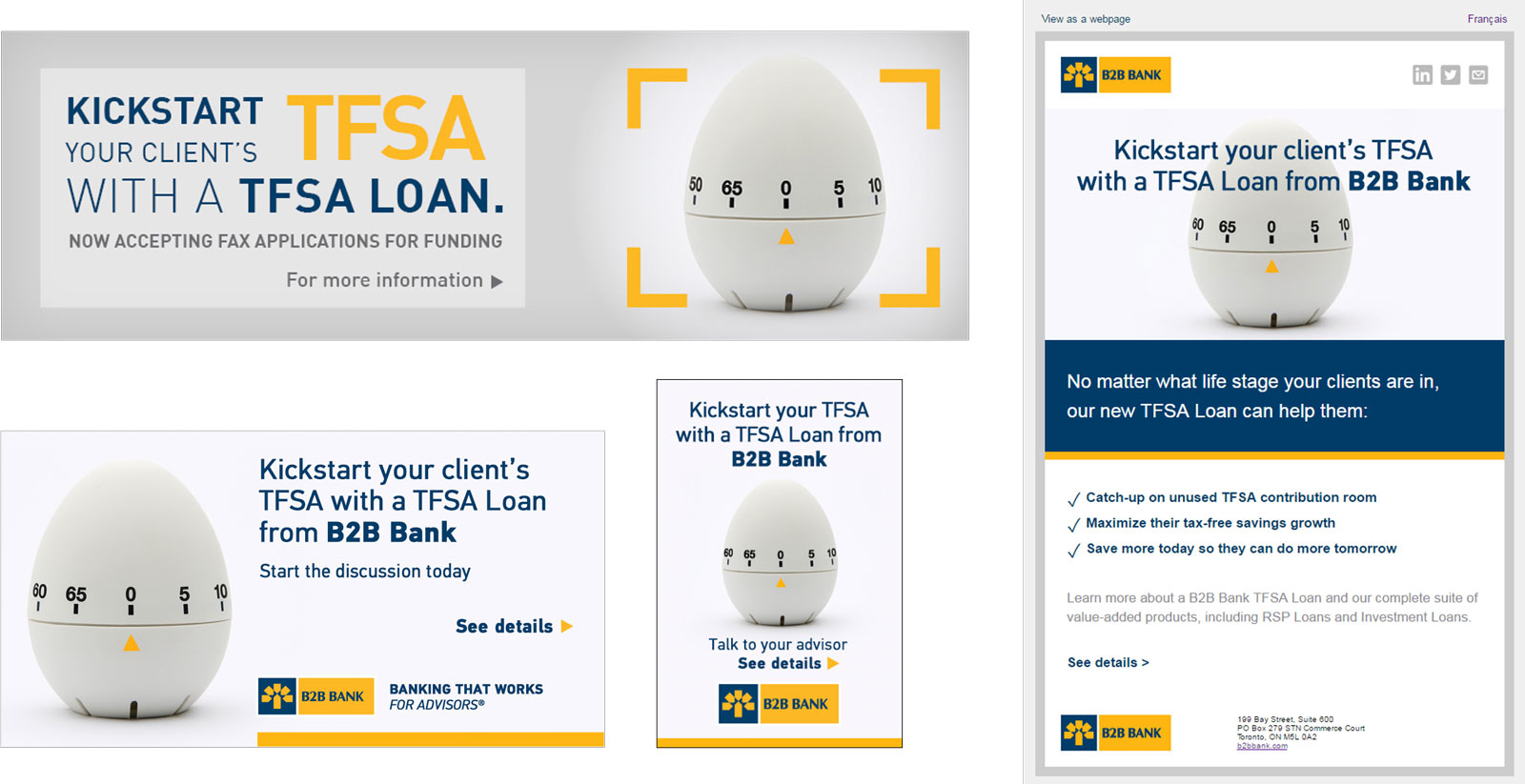 TFSA Loans Campaign
