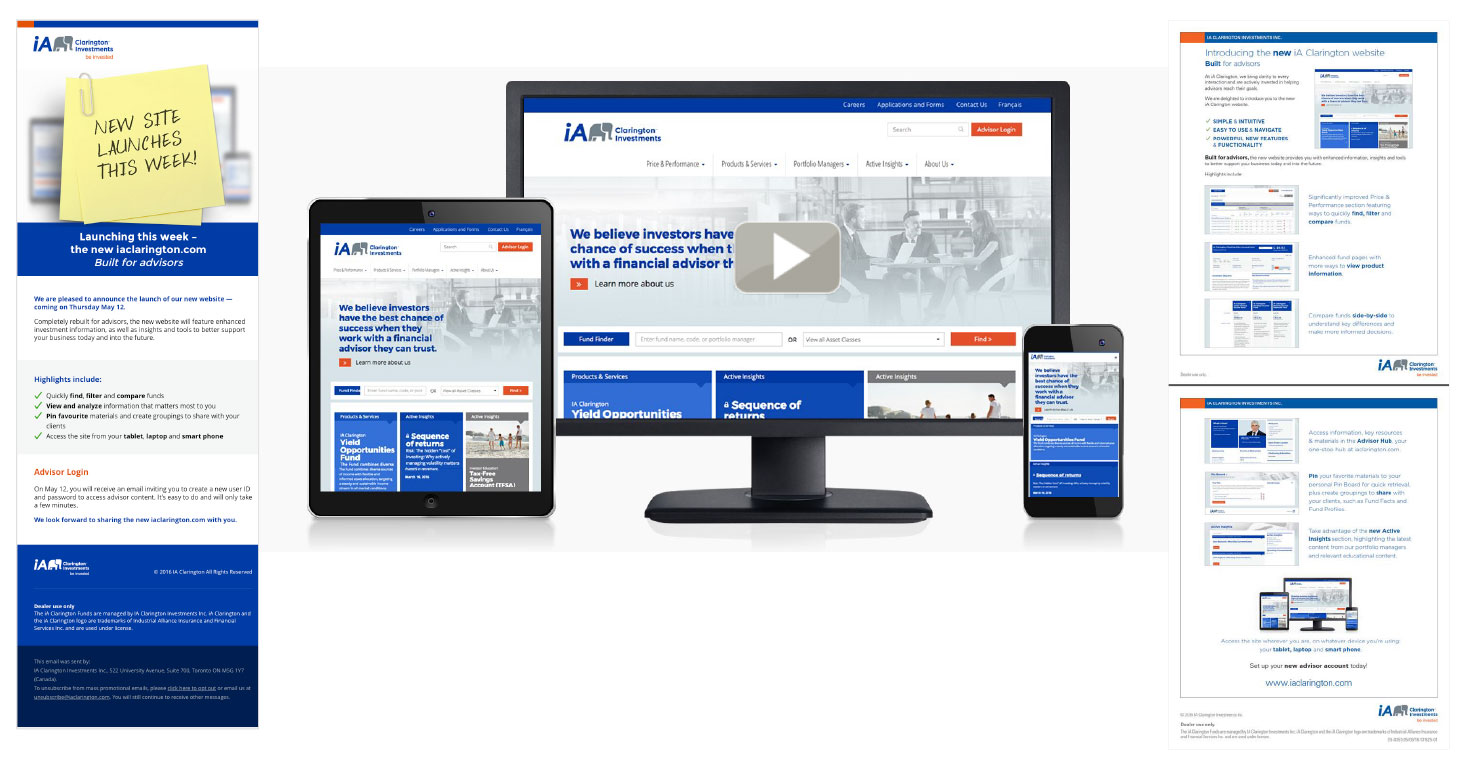 Website Redesign Launch Campaign